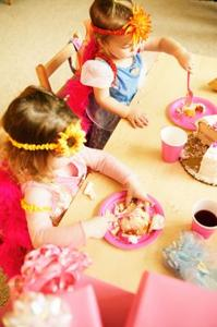 Princess Party Ideas for Three-åringer