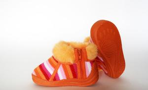 Hvordan Sy Fabric baby booties