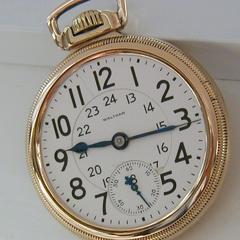 Waltham Pocket Watch Informasjon