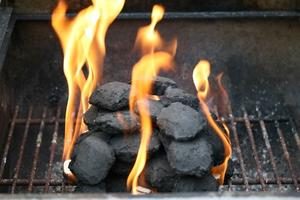 DIY Outdoor Stone Peis Grill